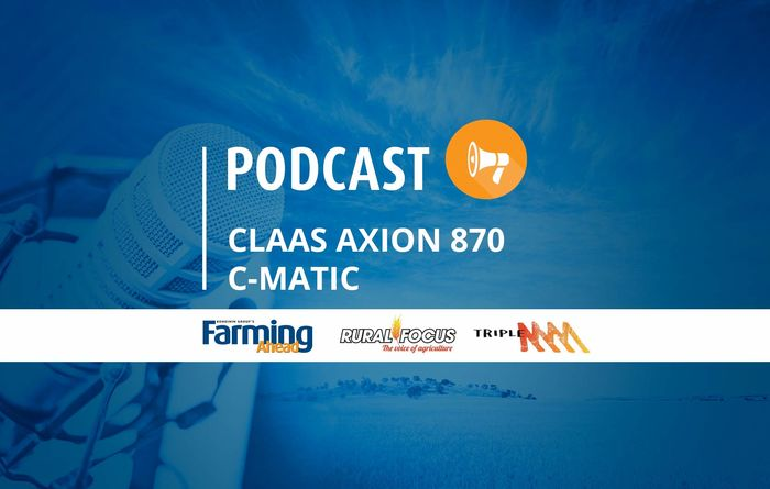 Podcast: Claas Axion 870 C-Matic