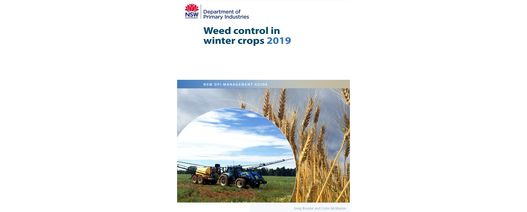 New South Wales weed control guide available