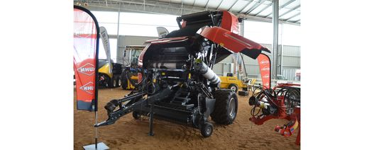 Kuhn shows off new round balers