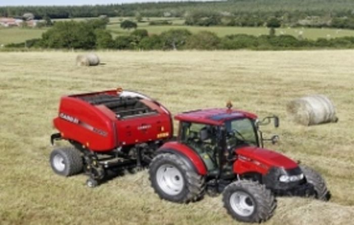 Testing pays off for new Case IH round baler