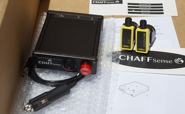 Chaff Sense blockage monitor on the market