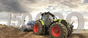 Claas marks 150,000th tractor