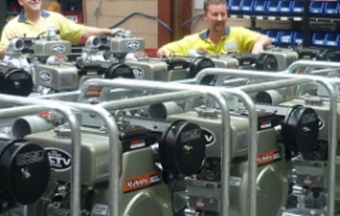 Kubota pump production on the rise