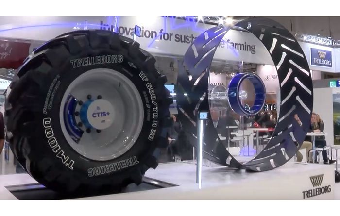 Trelleborg wins Best Agricultural Tyre title