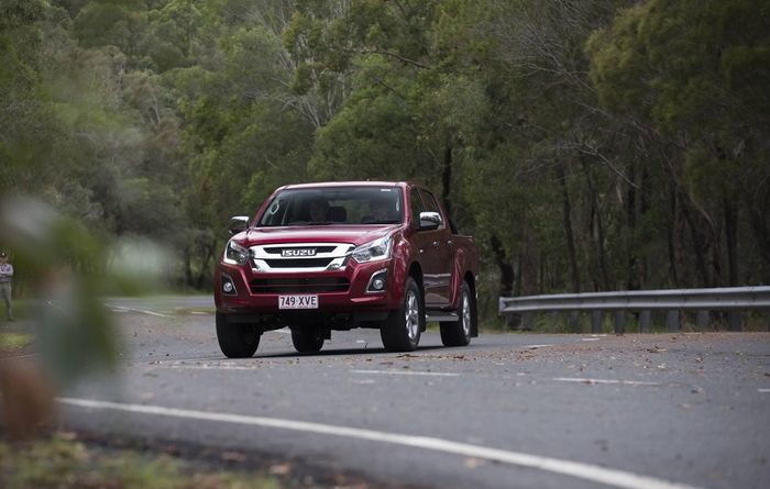 D-MAX ute refined for 2018