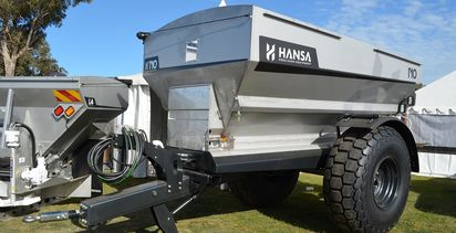 New spreaders at Henty