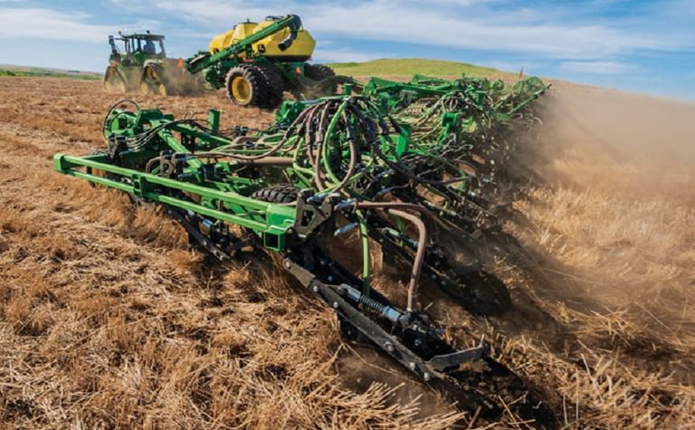 New air seeder from John Deere