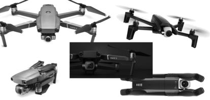 New UAV's focus on high-end imagery