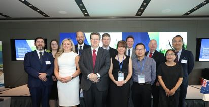 AEGIC hosts barley conferences in China
