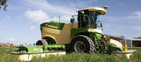 Big mower from Krone
