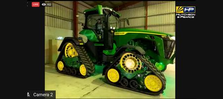 Virtual launch of 8RX tractor