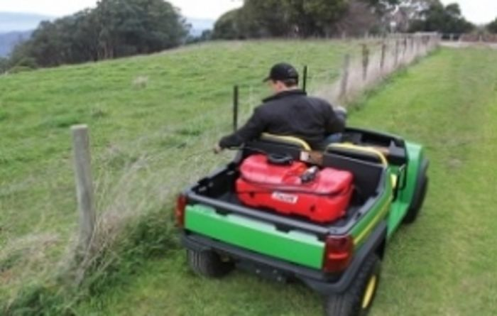 Portable sprayer primed for ATV use