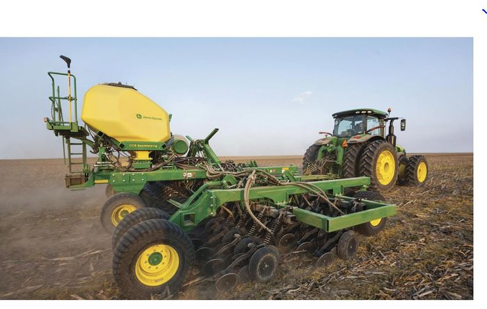 Deere drill wins design award