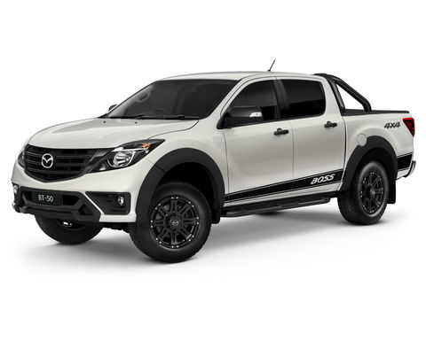 Mazda introduces the Boss of utes