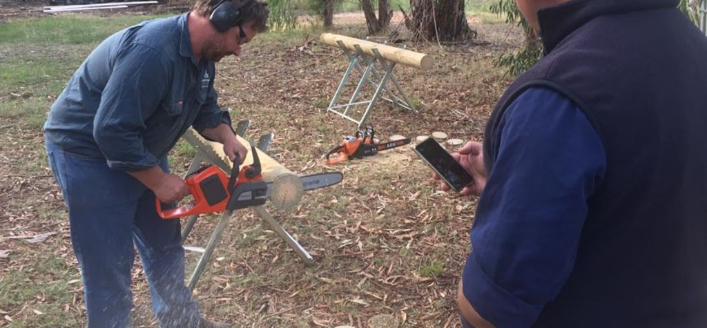 Battery-powered chainsaws reviewed