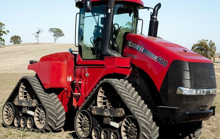Quadtrac conquers harsh terrain