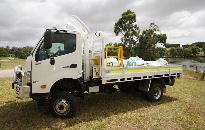 VIDEO: Hino a safe 4x4 option