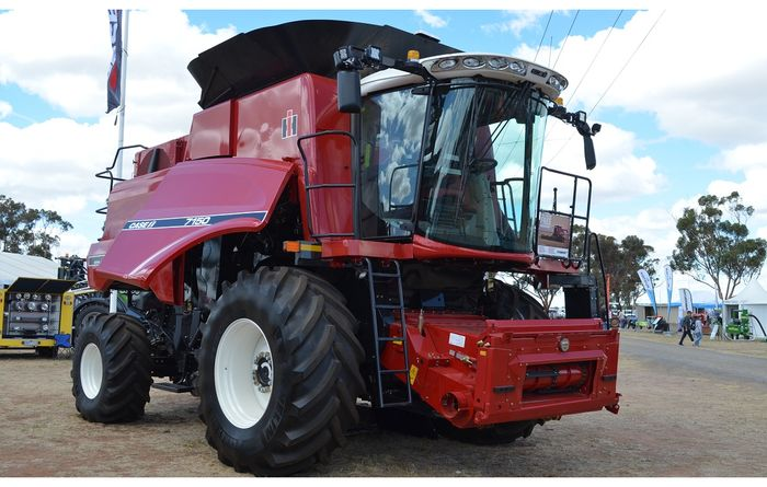 Limited edition harvester goes on show