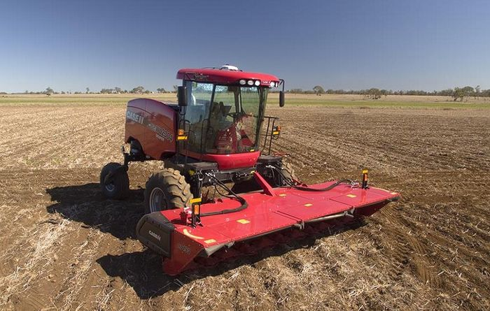 New windrowers from Case IH