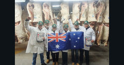 Aussie meat judging success