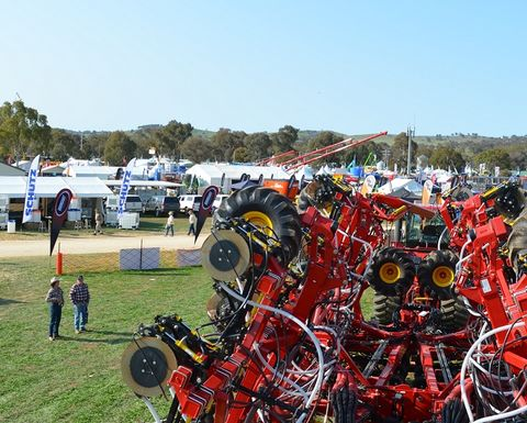 Firing up for Henty Field Days