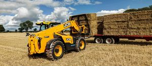 New JCB telehandlers combine two drive systems in one