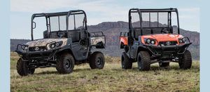 Kubota adds speed to its side-by-side range