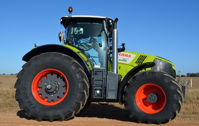 New Claas Axion offers plenty of power