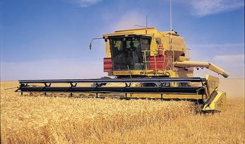 Crop production continues to slide