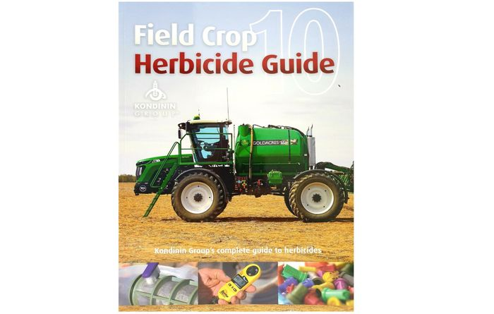 Must have herbicide guide out now