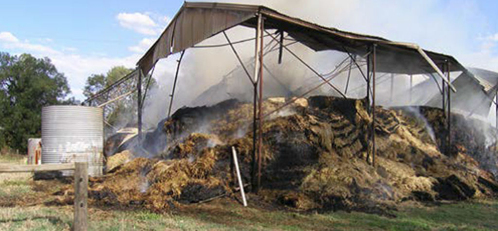 Don't let your hay go up in smoke
