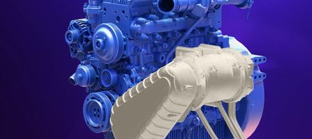 Hybrid engine technology on show in Germany