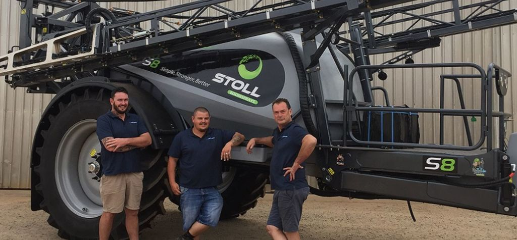 Stoll sprayers head west