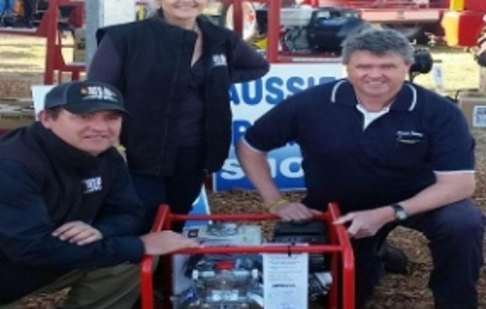 Aussie Pumps make a splash at AgQuip