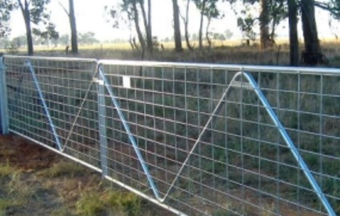 Donated farm gates ready for Waroona's fire-affected farmers