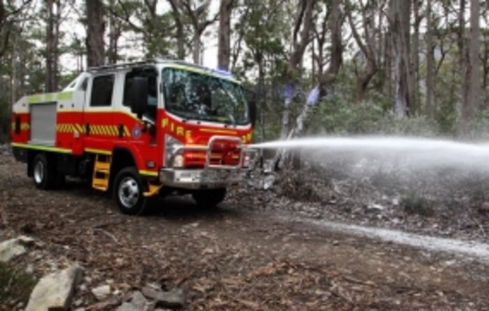 Tasmania Fire Service sets industry fire truck first