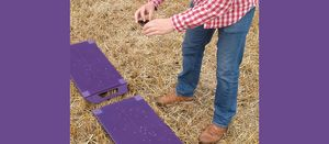 Spreader testing mats help with accuracy