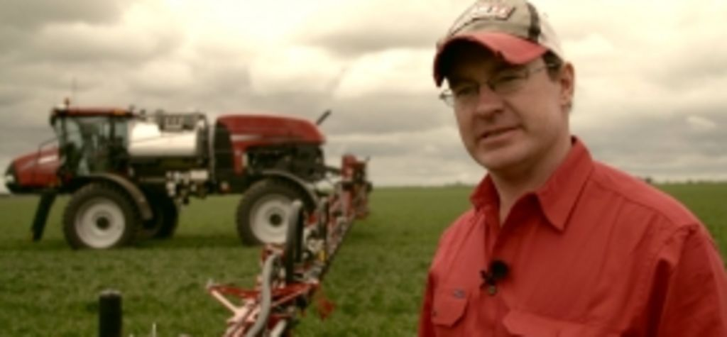 Australian farmer features in video for Case IH