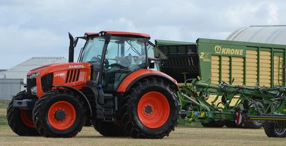 Kubota strengthens its large tractor business in North America