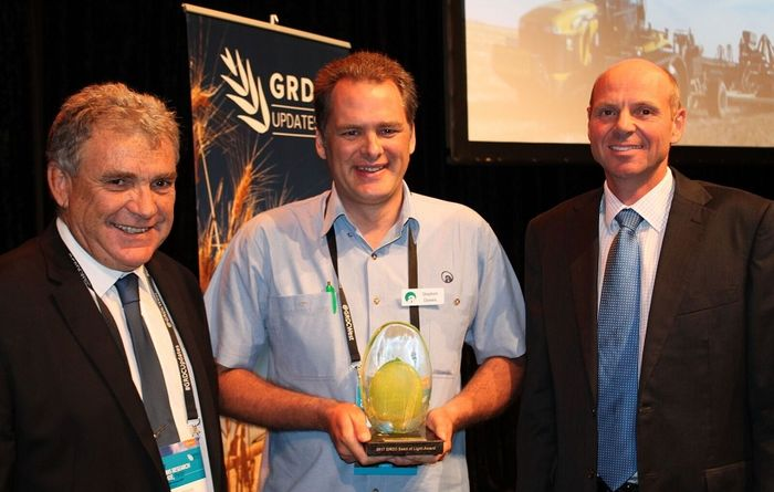 Top gong for WA soils researcher