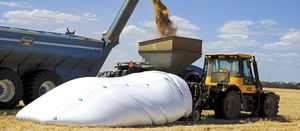Tips for using bulk bags to store grain this harvest