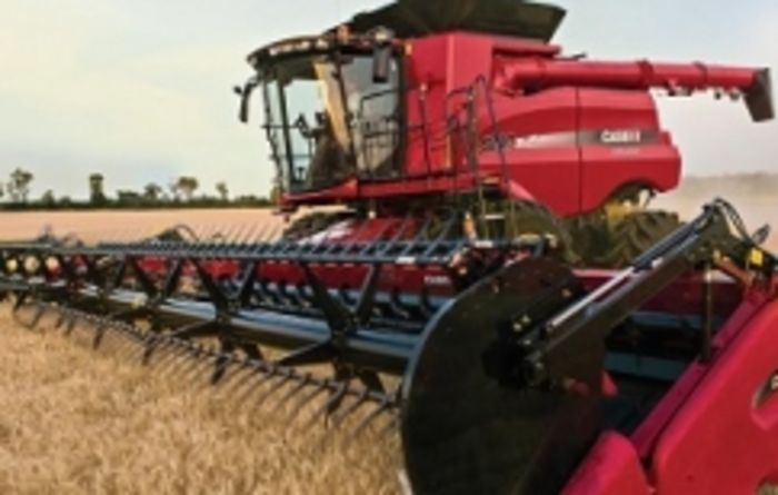 Case IH's grain analyser targets maximum efficiency