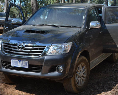 2015 Toyota Hilux recalled