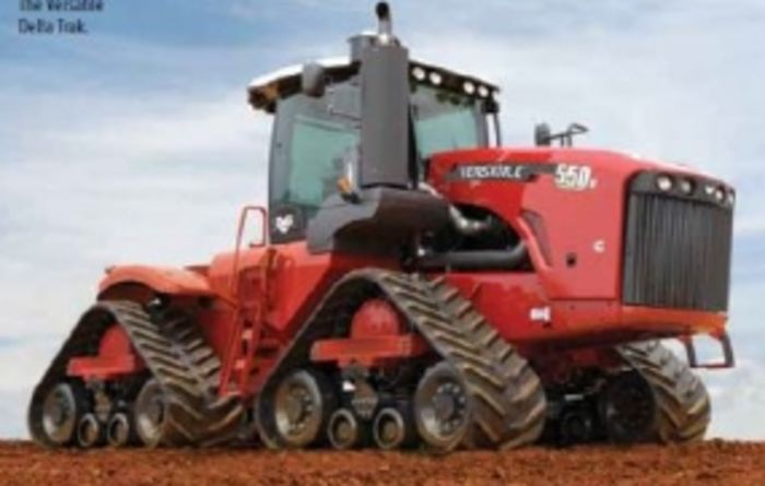 Tracked tractors tracking toward increasing popularity