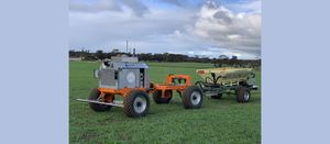 SwarmFarm Robotics and Roesner to develop autonomous spreader