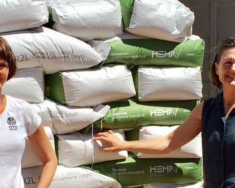 First order of hemp seed arrives in WA