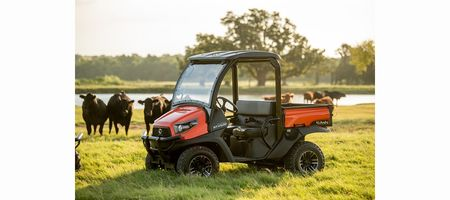 New Kubota side-by-side has a power boost