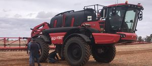 Self-propelled sprayer testing under way in WA