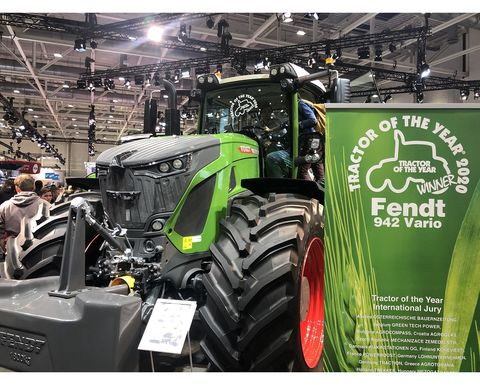 Fendt wins Tractor of the Year Award at Agritechnica