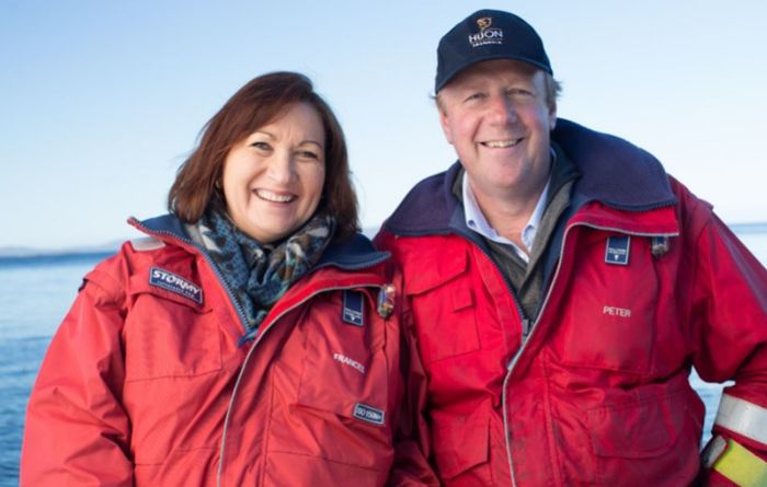 Farming duo making a splash in Tasmania